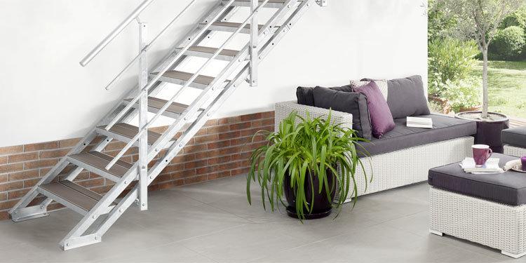 Treppen für den Außenbereich